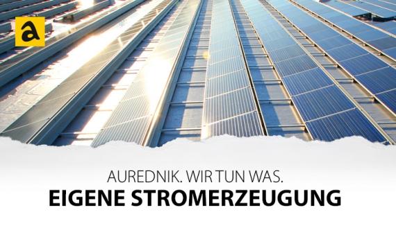 Eigene Stromerzeugung durch Photovoltaik